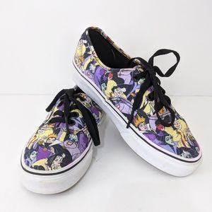 Vans Limited Edition Disney Villains Sneakers 6.5
